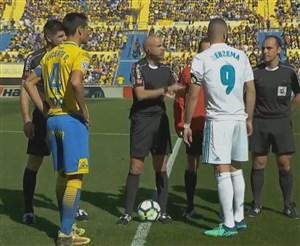 خلاصه بازی لاس پالماس 0 - رئال مادرید 3