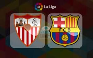 خلاصه بازی سویا 2 - بارسلونا 2