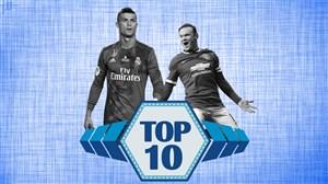تاپ ۱۰ | به بهانه سوپرگل رونالدو به یوونتوس؛ 10 گل قیچی برگردان دیدنی در تاریخ فوتبال