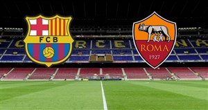 خلاصه بازی بارسلونا 4 - آ اس رم 1