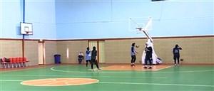 ارودی تیم ملی بسکتبال سه نفره بانوان در کرمان