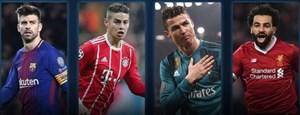 نامزدهای بهترین بازیکن دور رفت یک چهارم لیگ قهرمانان اروپا