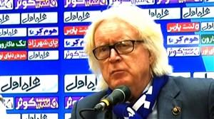 کنفرانس خبری استقلال تهران - سیاه جامگان