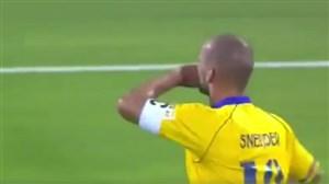 سوپر گل اسنایدر در لیگ ستارگان قطر
