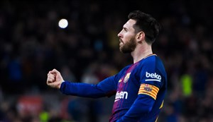 گل دوم بارسلونا به رئال مادرید (لیونل مسی)