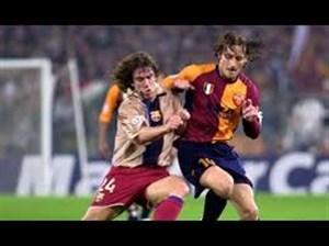 بازی خاطره انگیز آاس رم 3 - بارسلونا 0