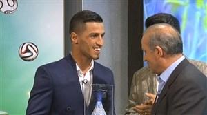 علی علیپور بهترین بازیکن سال 96 از نگاه مردم