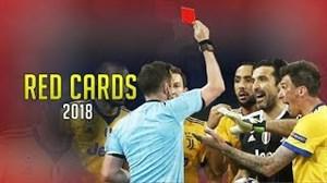کارت قرمزهای بحث برانگیز اروپا در فصل 2017-2018