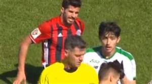 درگیری فوتبالی جالب سردار آزمون و عزت الهی