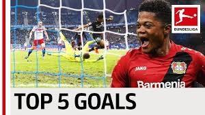 5 گل برتر لئون بیلی در بوندسلیگا