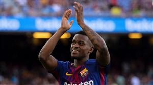 بررسی عملکرد نسلون سمدو در بارسلونا فصل 18-2017