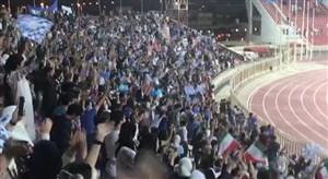 ایسلندی هواداران استقلال در کویت بعد از صدرنشینی در گروه مرگ