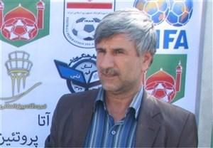 صحبت های بهرامی در مورد ماشین اهدایی هیئت فوتبال استان قم