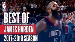 حرکات برتر جیمز هاردن در فصل 2018-2017