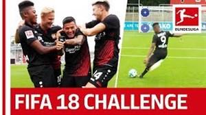 چالش جالب ضربه آزاد در بوندسلیگا!