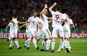 صعود مقتدرانه بایرن مونیخ به فینال جام حذفی