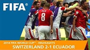 مرور جام جهانی 2014 - ( سوئیس 2 - اکوادور 1 )