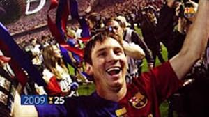 به یاد 29 قهرمانی تیم بارسلونا در کوپا دل ری ( جام حذفی اسپانیا )