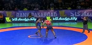خلاصه کشتی امیرحسن میری - علی اکبر حیدری (انتخابی تیم ملی)