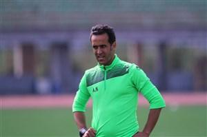 استعدادیابی علی کریمی از بازیکنان جوان قبل از شروع لیگ