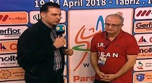 مصاحبه مربیان والیبال ایران و اکراین پس از دیدار