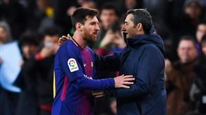 خبر تلخی که لیونل مسی به سرمربی بارسلونا داد!