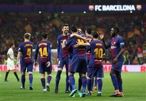 پیش بازی بارسلونا - ویارئال