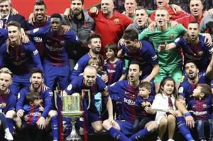 نگاهی دیگر به قهرمانی بارسلونا در کوپا دلری