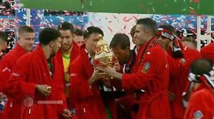 جشن قهرمانی فاینورد پس از قهرمانی در جام حذفی هلند