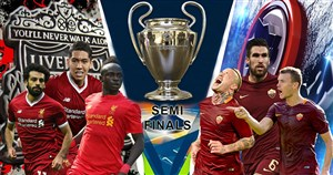 پیش بازی لیورپول  - آ اس رم (نیمه نهایی لیگ قهرمانان)