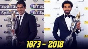 بهترین بازیکنان لیگ برتر جزیره 1973-2018