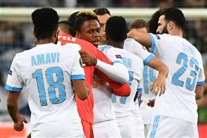المپیک مارسی در آستانه صعود به فینال لیگ اروپا