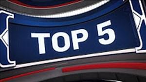 5 حرکت برتر شب گذشته لیگ بسکتبال NBA
