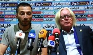 کنفرانس خبری بعد از دیدار استقلال - سپاهان