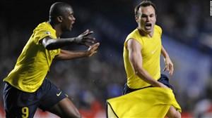 5 گل برتر اینیستا در لیگ قهرمانان اروپا