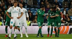 مروری بر بازیهای گذشته رئال مادرید - لگانس