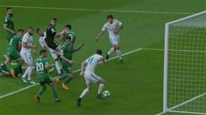 گل دوم رئال مادرید به لگانس (مایورال)