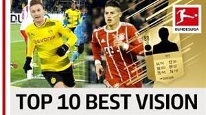 10 بازیکن باهوش بوندسلیگا از دید FIFA18