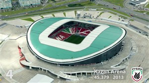 10 مورد از بزرگترین استادیوم های کشور روسیه