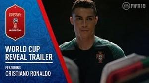 تریلر جدید FIFA18 با حضور کریستیانو رونالدو