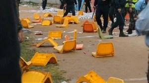 از زد و خورد تا ناراحتی در بازی خونه به خونه - برق شیراز