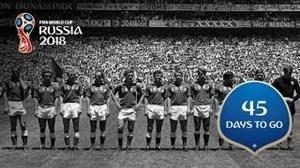 45 روز مانده به جام جهانی روسیه 2018
