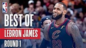 برترین بازیهای لبران جیمز مقابل ایندیانا در پلی آف NBA