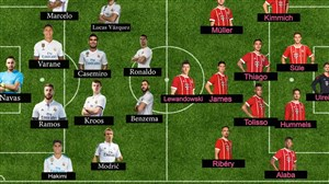 ترکیب احتمالی رئال مادرید - بایرن مونیخ در بازی برگشت UCL