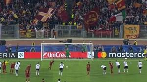 گل چهارم آ اس رم به لیورپول (ناینگولان)