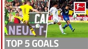 5 گل برتر بوندسلیگا در هفته 32
