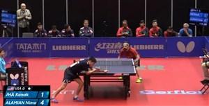 پینگ پنگ تیمی قهرمانی جهان - نیما عالمیان ۲ - کاناک ۳