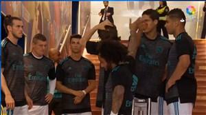 گرم کردن بازیکنان رئال مادرید در نئوکمپ