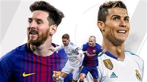خلاصه بازی بارسلونا 2 - رئال مادرید 2