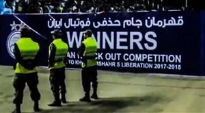 صحبت های فتاحی درباره اعلام قهرمانی استقلال قبل از سوت پایان